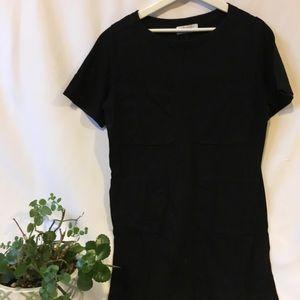 EVERLANE Black Pockets Dress